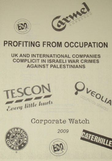 Profiting from Occupation - UK and International Companies complicit in Israeli War Crimes against P